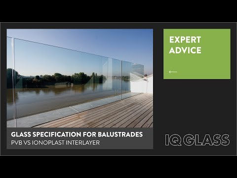Glass Specification for Frameless Glass Balustrades