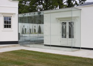 Transparent Glass Entrance (2)