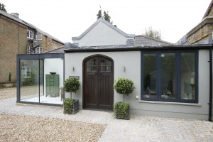 Home Farm Close was renovated using Innovare windows and a glass box extension