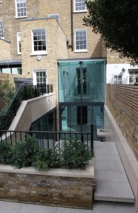 Double height rear extension in Chelsea