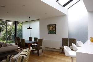 How to create privacy with glass