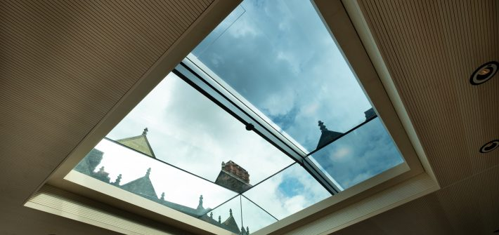 Large automated rooflight