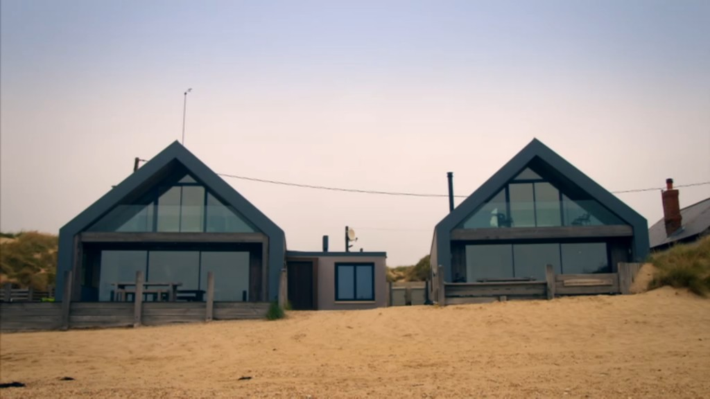 Camber Sands beach houses featured on Amazing Spaces