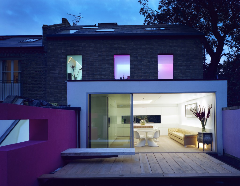 Russell Garden Mews featured in Grand Designs in 2011
