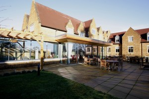Architectural Glazing at Godswell Park luxury care home