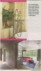 The Snug 'full length retractable windows' shown in Sunday Times