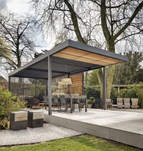 The Umbris Louvre Roof structure featured in Grand Designs