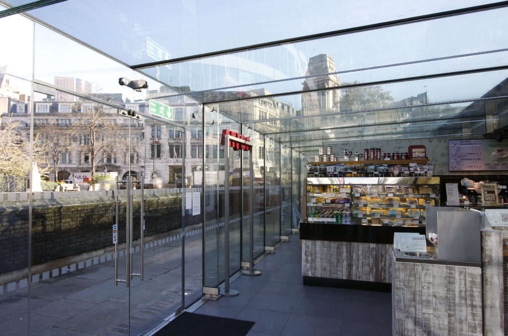 Commercial Structural Glass
