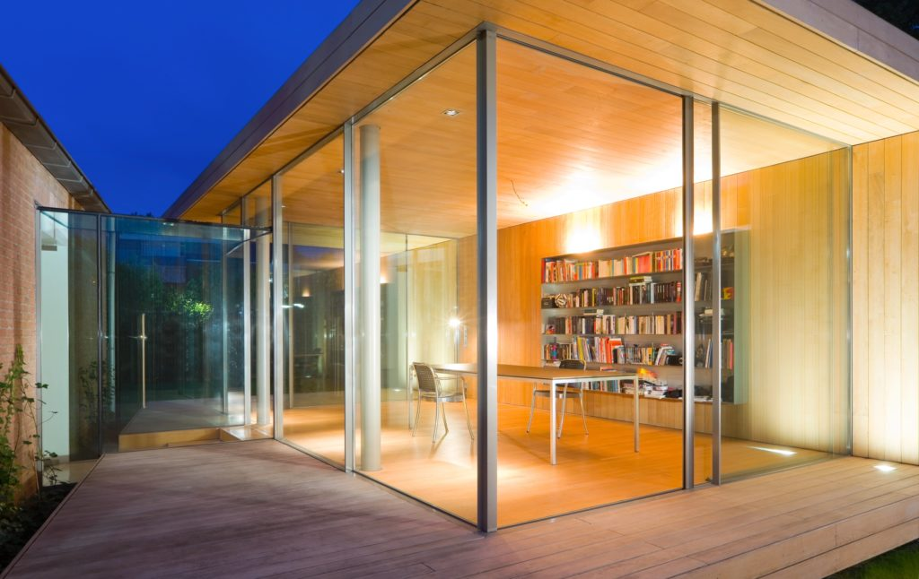 Home Office Garden Room Project by IQ Glass