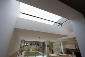 3D boxed sliding rooflight