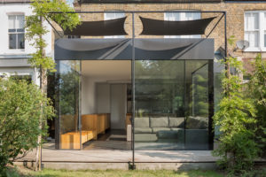 glazed extension in london