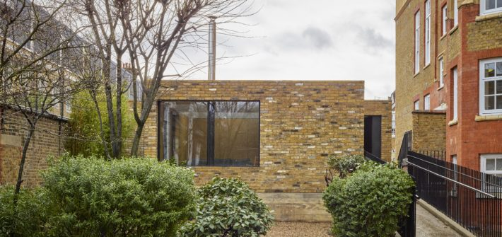 hidden house project with minimal windows