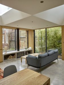 hidden house project with iq glass