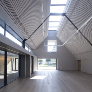 The Warwick Hall Community Centre extension