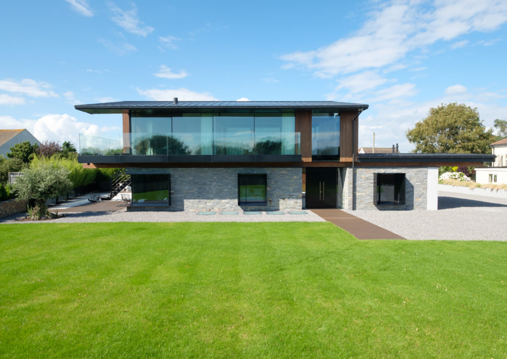 award winning house with lots of glass