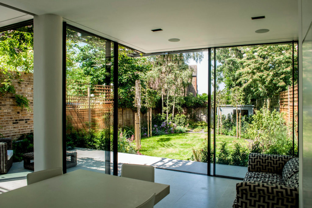 corner sliding glass doors