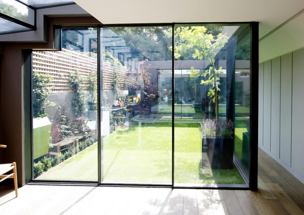 ultra slim sliding door system