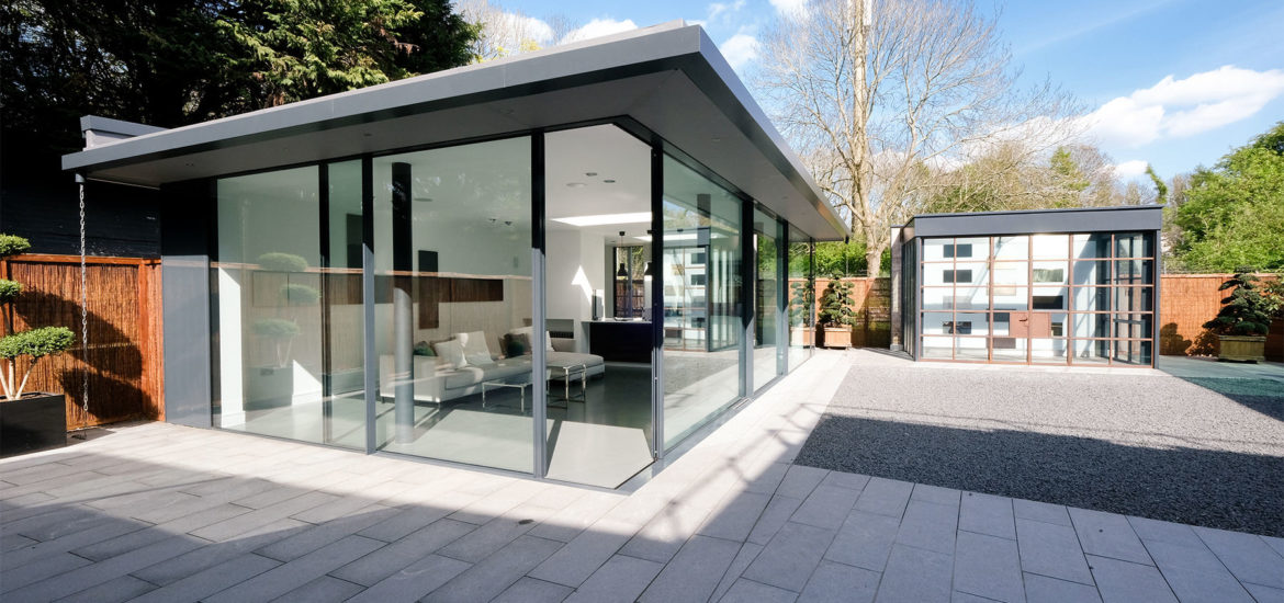 iq glass sliding door showroom