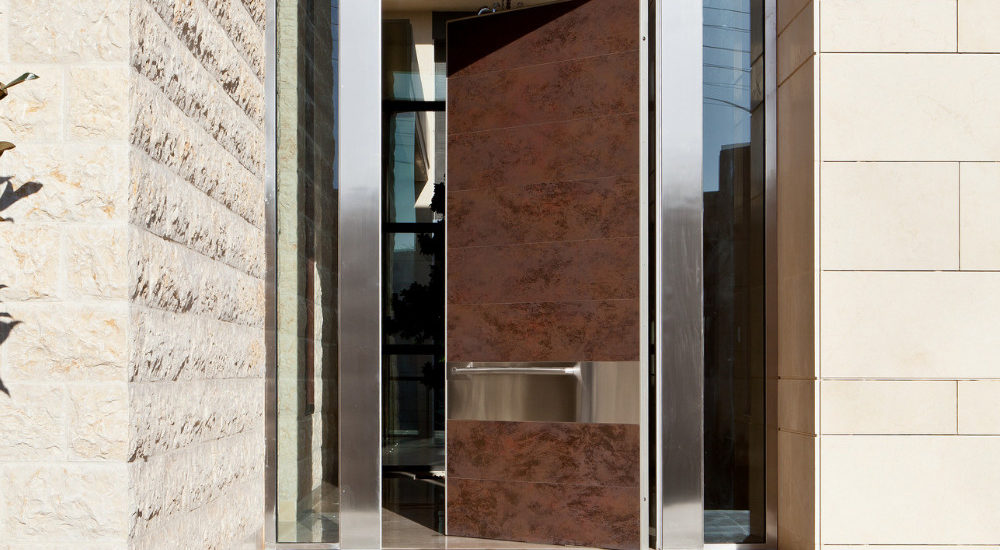 Apertio Glass Entrance Door