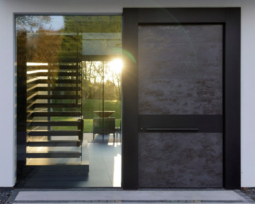 Apertio Solid Entrance Door