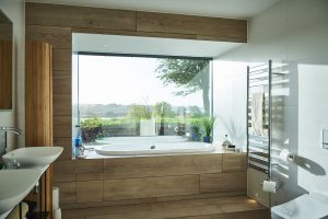 minimal casement window used in an iq glass project